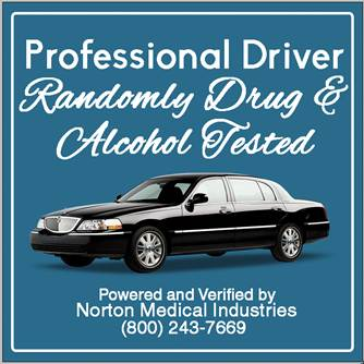 Drug and alcohol tested chauffeurs